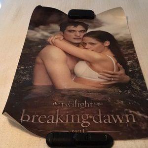 Hot Topic Twilight Saga Edward and Bella Poster